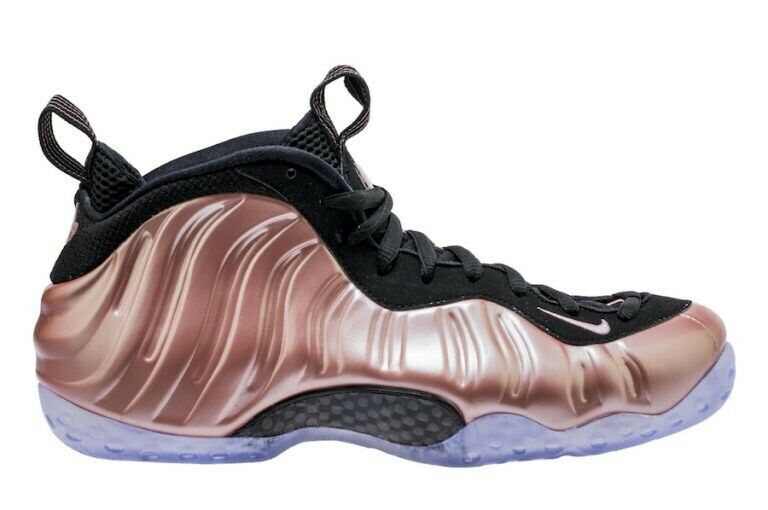 NIKE AIR FOAMPOSITE ONE RUST PINK PENNY RETRO MENS SZ 11.5 (314996 602)