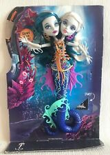 Monster High Peri and Pearl Serpentine 2 Headed Doll Glow in The Dark