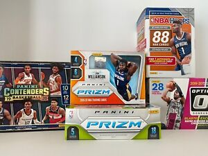 NBA Mystery Pack Basketball Cards 1 RC Guaranteed 10 Cards Total