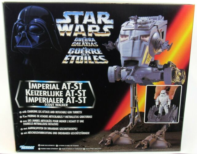 Imperial AT-ST Scout Walker 1995 STAR WARS Power of the Force POTF MIB