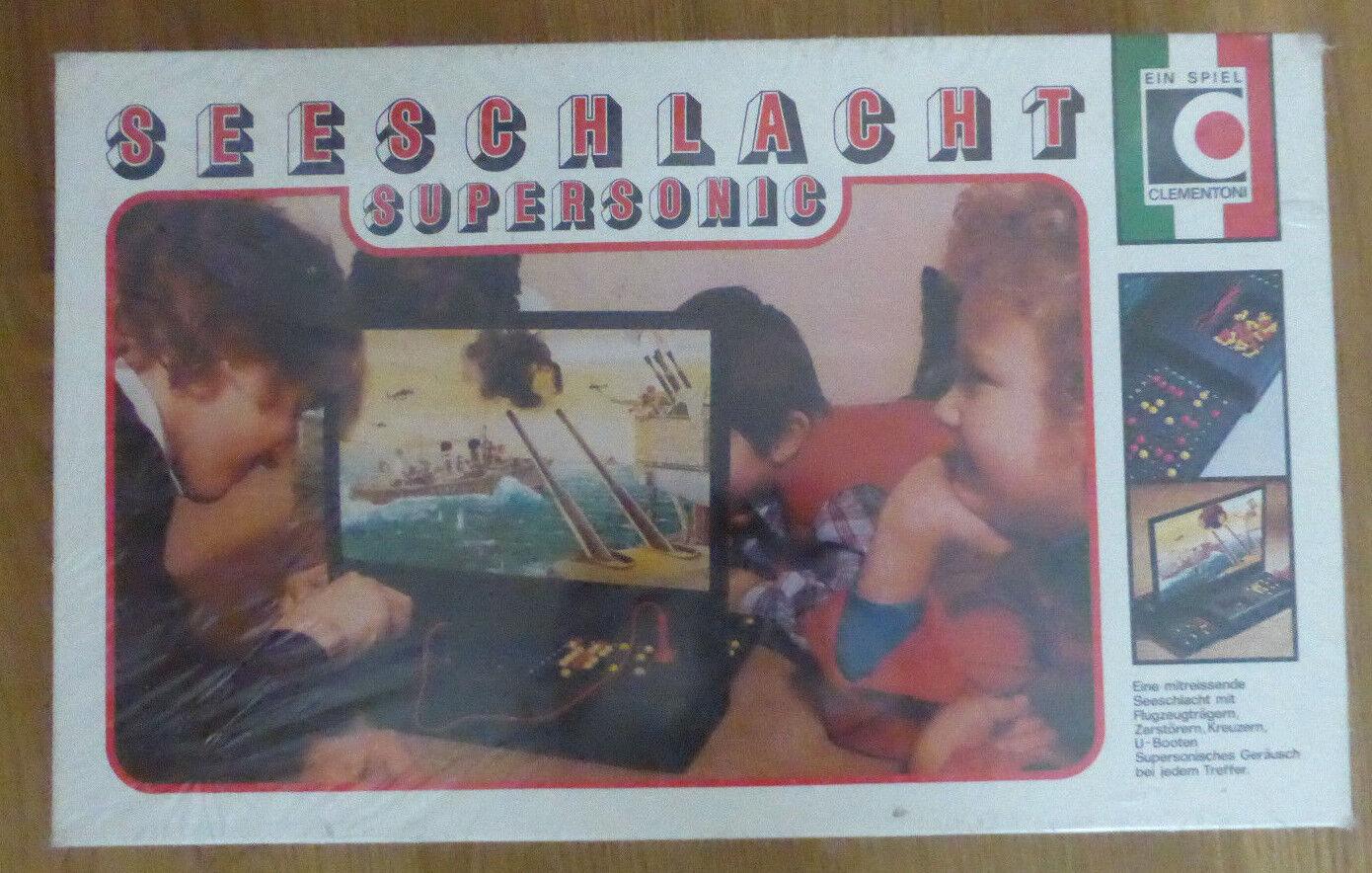 Seeschlacht Supersonic  Ein Spiel von Clementoni NEU und OVP