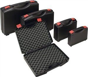 universal kunststoff koffer pp mit schaumstoff kunststoffkoffer in 5 gr en ebay. Black Bedroom Furniture Sets. Home Design Ideas