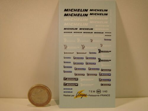DECALS 1//43  NEW MICHELIN VIRAGES  T161