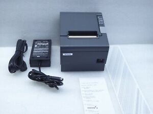 EPSON-TM-88IV-Business-Thermal-Printer-M129H-With-Epson-180-Power-Supply