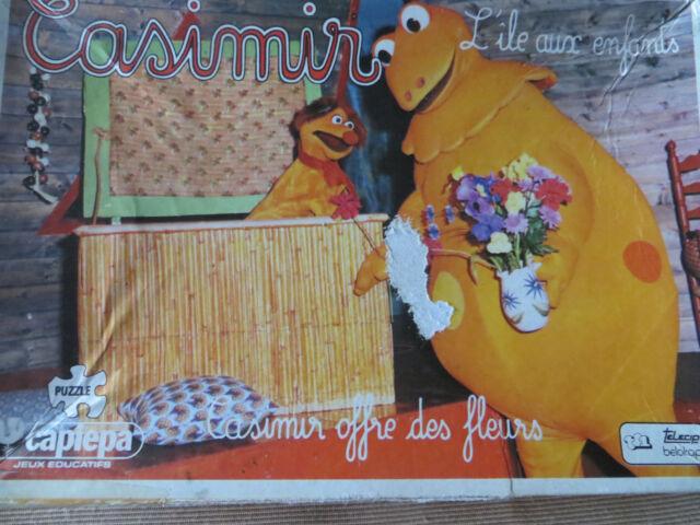 Puzzle Casimir offre des fleurs, Capiepa - Cavahel Vintage