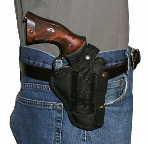 USA-Custom-S-amp-W-Governor-Pistol-Holster-Hip-Belt-Holds-5-Rounds-Smith-amp-Wesson