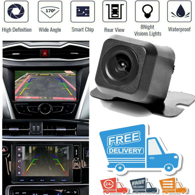 Reverse Car Rear View Backup Parking Camera With IR Night Vision Waterproof 170°