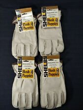 Lot Of 4 Hush Puppies Size Large Drivers Style Cowhide Leather Gloves