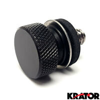 Black Seat Screw Knurled Seat Cover Bolt For Harley Davidson Softail Slim Fls