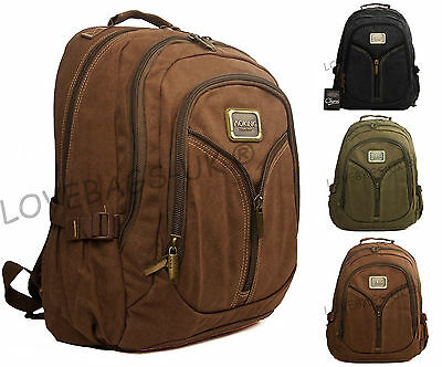 High Quality Canvas Travel Cabin Backpack Hiking Flight Weekend Hand Luggage Bag