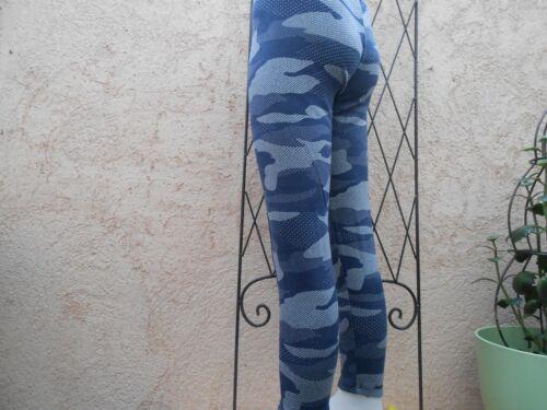 Thermo Leggings Stretch Tarn Muster Treddings Freizeithose Hose,Mädchen Kinder