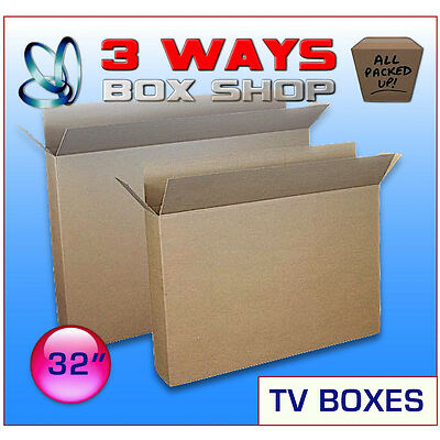32 Inch LCD TV Picture Cardboard Removal Boxes
