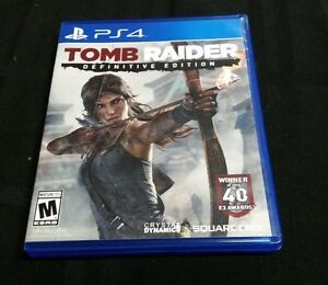 Replacement Case (NO GAME) TOMB RAIDER DEFINITIVE EDITION ...