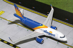 Gemini Jets 1:200 Scale Allegiant Air Airbus A319(S) G2AAY663