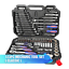 WORKPRO-Tool-Set-Hand-Tools-for-Car-Repair-Ratchet-Spanner-Wrench-Socket-Set-Pro miniatura 2