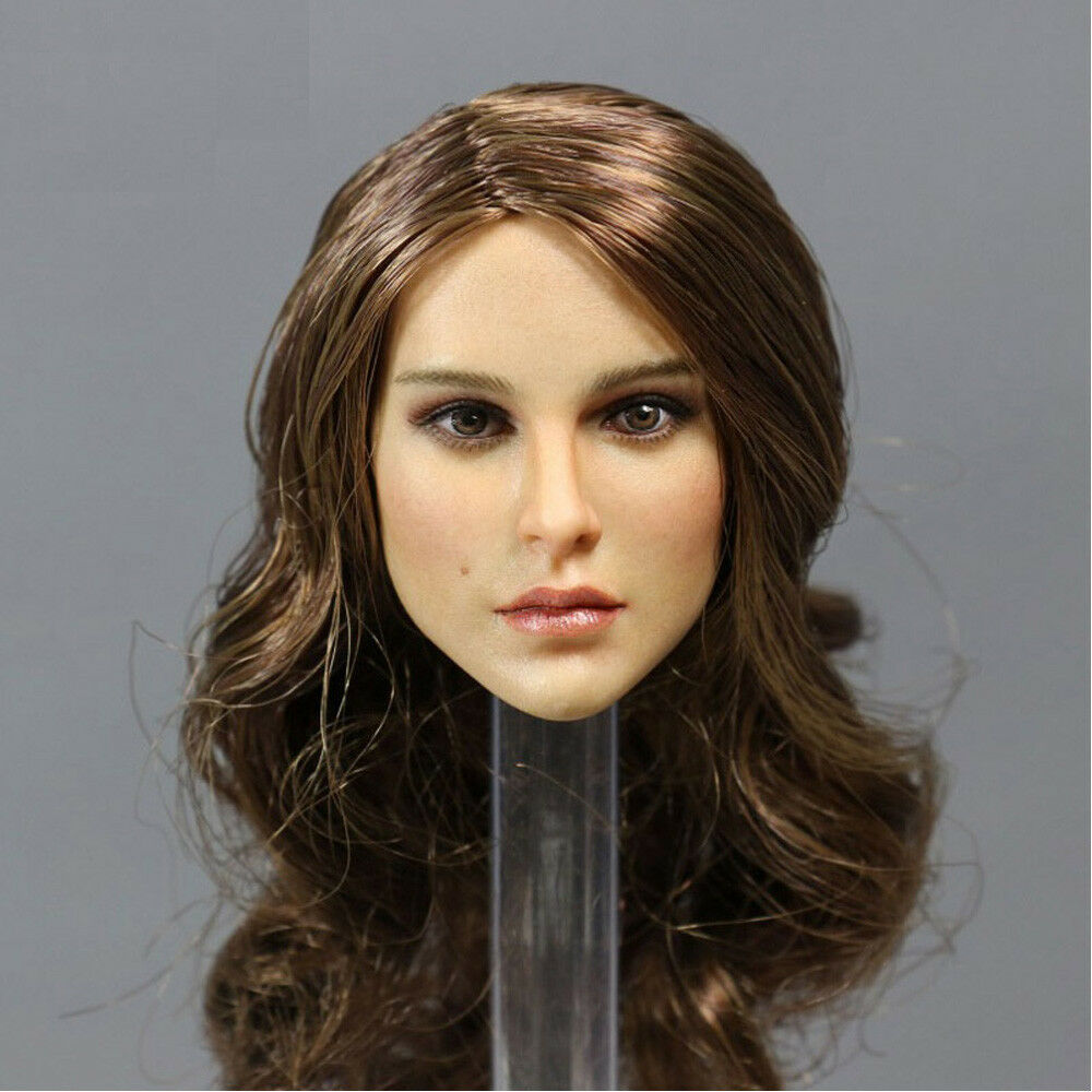 KIMI TOYS KT008 1 6 Natalie Portman female head for Suntan Phicen