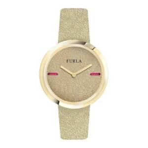 Furla-Women-039-s-R4251110507-My-Piper-Beige-Leather-Wristwatch