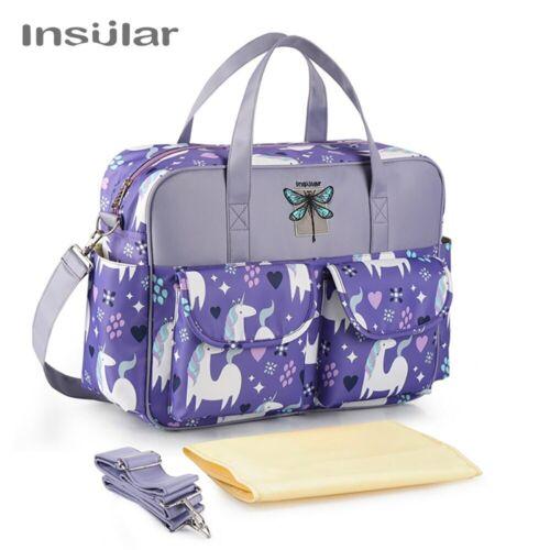 Insular Cartoon Mother Maternity Baby Diaper Bag Large Capacity Mummy Nursing