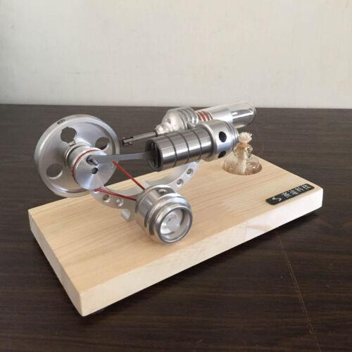 Mini Hot Air Stirling Engine Generator Educational DIY Toy Model Kits M14-03-S