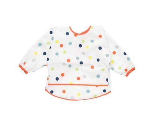 IKEA kladdig Soft Baby Feeding Bib Craft Tablier manches longues polyester UK-P786