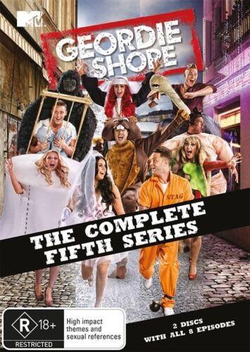 1 of 1 - Geordie Shore : Season 5 (DVD, 2014, 2-Disc Set)