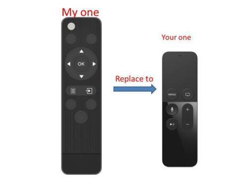 Replacement Remote Control for Apple TV 4th Generation Apple TV 4K