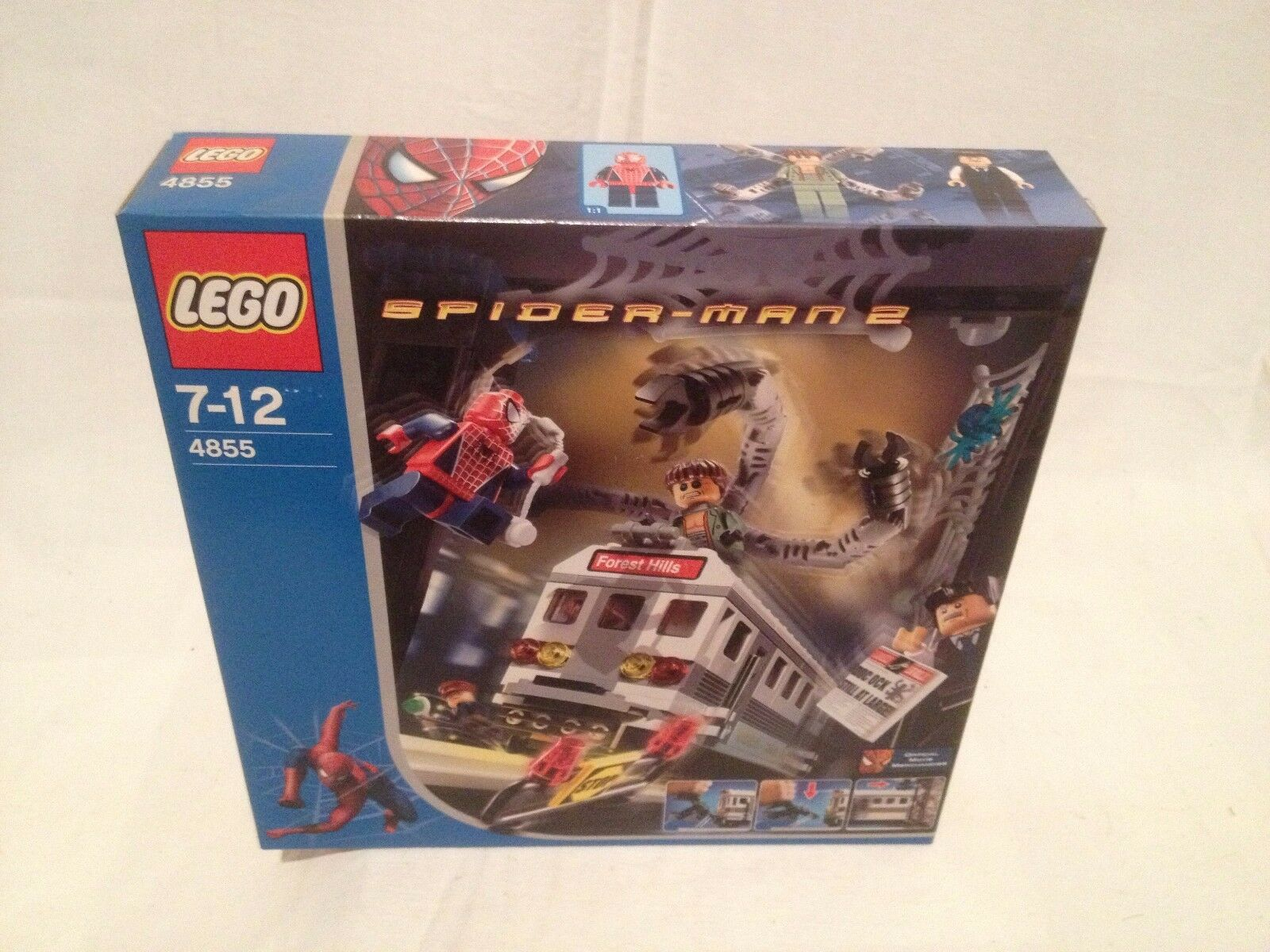 Lego Spider-Man  4855 Train Rescue NEUF 1 édition  grosses soldes