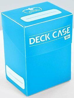Deck Box Light Blue Ultimate Guard GAMING SUPPLY BRAND NEW Deck Case 80