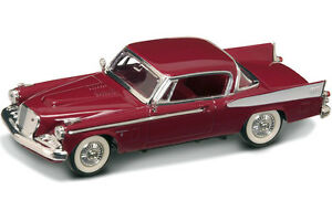 NIB-1-43-Scale-1958-Claret-Studebaker-Golden-Hawk-for-MTH-Lionel-amp-K-Line