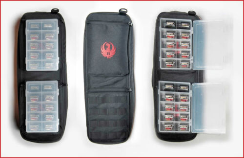Ruger BX-1 Case for 10 10//22 Mags Fits Ruger Takedown Bag Whistle 7 in 1 LED