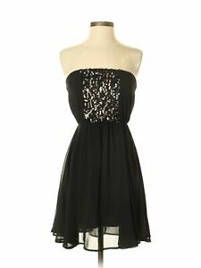 NWT-Lush-Women-Black-Cocktail-Dress-XS-52