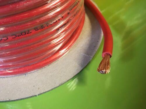 Motor De Arranque Batería 110A cable eléctrico automotriz Coche Cableado rojo