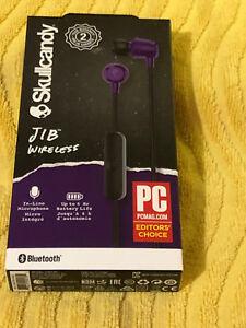 Skullcandy-Jib-Wireless-Bluetooth-In-Ears-Earbuds-NEW-PURPLE