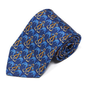 Brooks-Brothers-Hunting-Bear-Stirrup-Blue-Silk-Neck-Tie