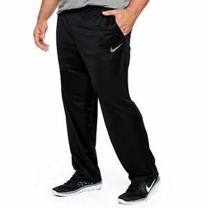 Details about NWT Men NIKE Big & Tall DRI-FIT Therma Swoosh Sweatpants  BLACK GRAY