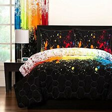 SIS Enterprises Inc Cosmic Burst Three Piece Full/Queen Comforter Set  NEW