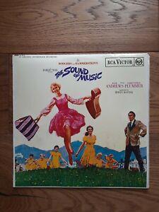 THE-SOUND-OF-MUSIC-Original-Soundtrack-12-034-LP-Album-Vinyl-Record-1965-SB-6616