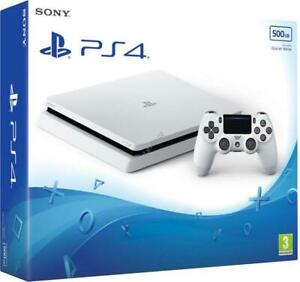 SONY-PLAYSTATION-4-PS4-CONSOLE-500GB-F-CHASSIS-SLIM-HDR-NUOVO-ITALIA-WHITE