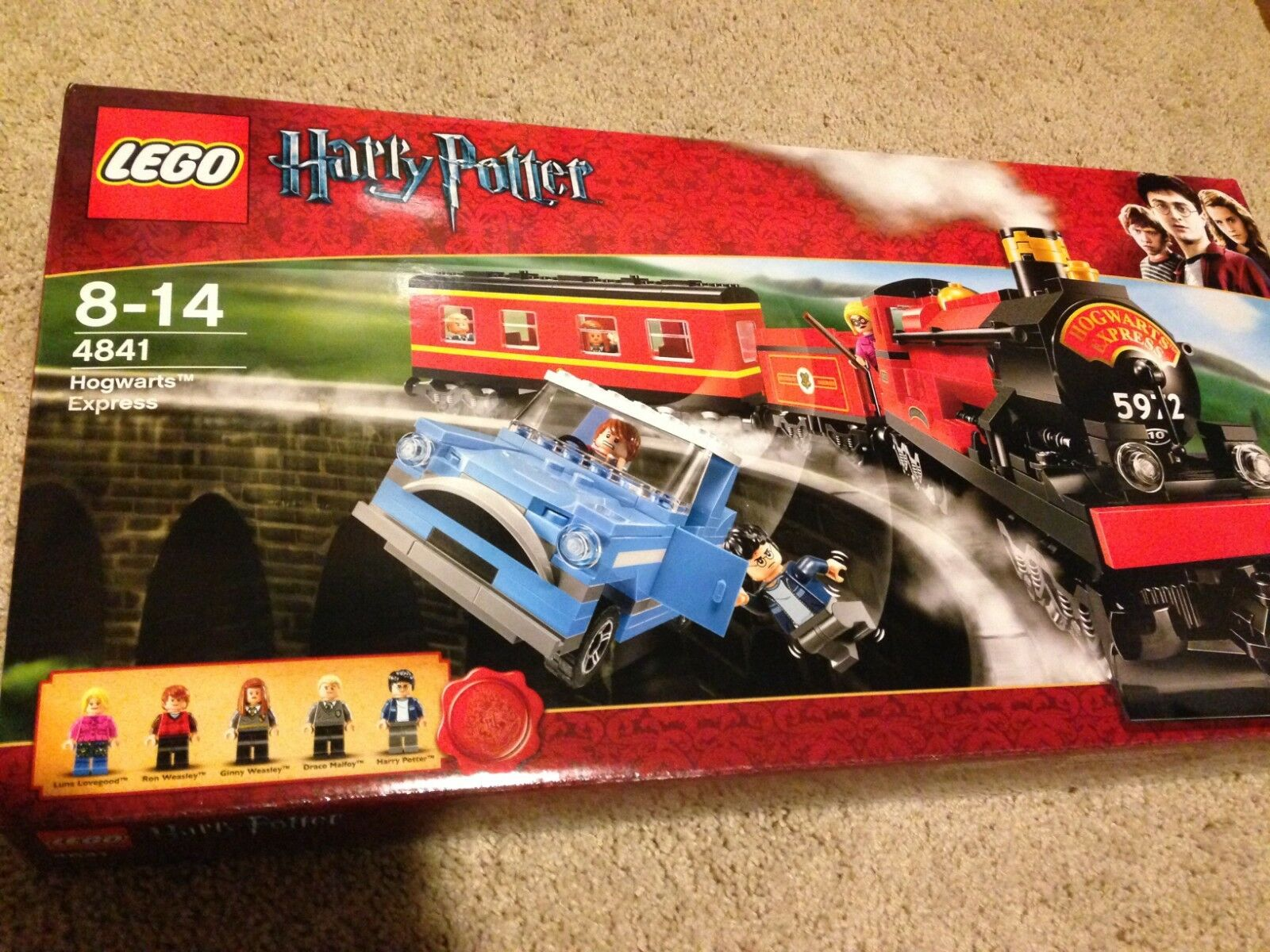LEGO Harry Potter Hogwarts Express (4841) Unopened, Factory-sealed