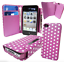 Leather-Wallet-Flip-Cover-Magnetic-Detachable-Hard-Case-2-in-1-Printed-Polka-Dot thumbnail 24