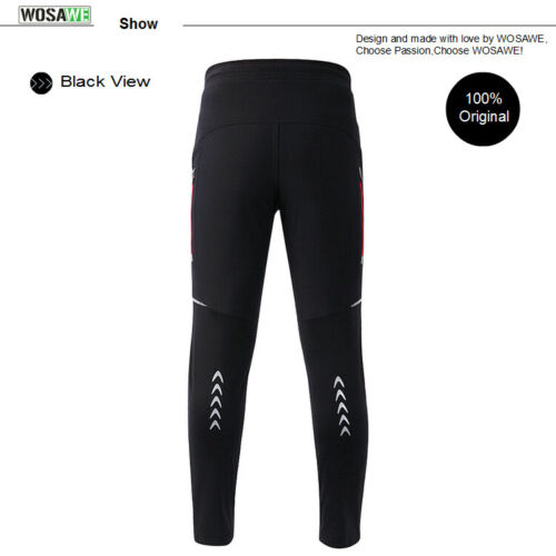 Men/'s Thermal Winter Cycling Jacket Pants Set Windproof Warm Coat /& Trousers