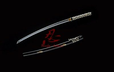 hand forged SCORPION theme 9260 spring steel blade katana sword sharpenedbattle