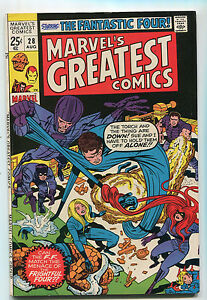 Marvel-039-s-Greatest-Comics-28-VF-The-Fantastic-Four-CBX200
