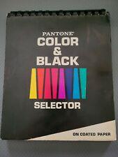 Vintage 1970s Pantone Color Specifier Color Amp Black Selector On Coated Paper
