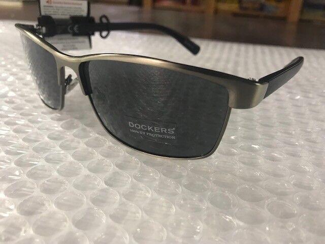 395706a411 Mens DOCKERS Black Metal   Plastic Frame Sunglasses for sale online ...