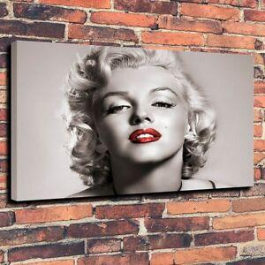 HD-Art-Canvas-Print-Oil-Painting-Marilyn-Monroe-Home-Decor-16x24
