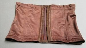 L Size S Maidenform Self Expressions Women/'s Firm Control Brown Waist Cincher