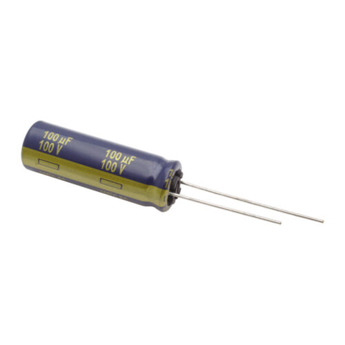 Radial 100 V 100uf prix pour: 5 Panasonic-eeufc2a101l-Condensateur