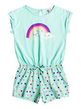 Roxy Kids Rainbow Dots Beach Romper Beach Glass Sz 5 ERLX603001