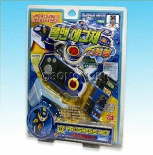 Takara Rockman EXE Mega Man DX Progress Pet Blue Children Toys Hobbies/_IU